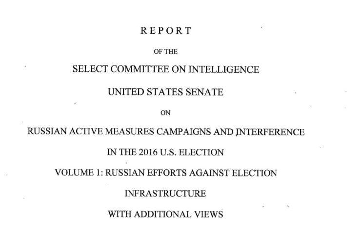 Concluzia Comunității de Informații a SUA privind Rusia, susținută de un raport al Senatului american