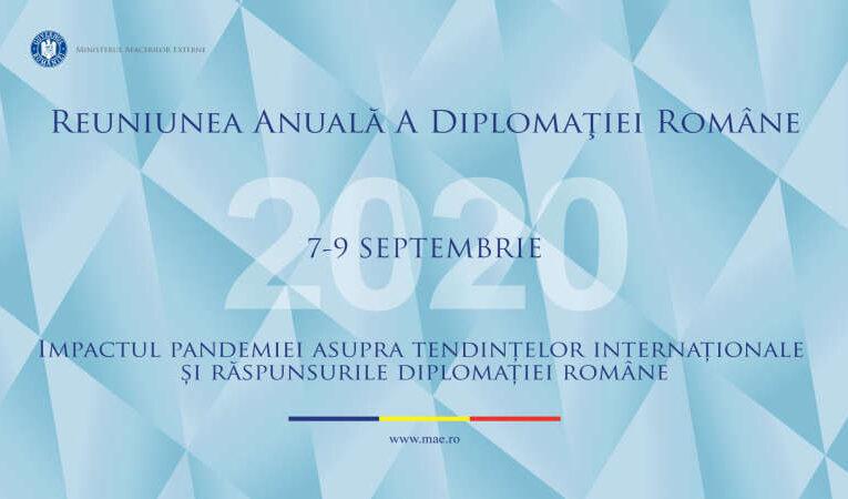 Secretarul general adjunct al NATO, Mircea Geoană, participă la Reuniunea Anuală a Diplomaţiei Române (RADR)
